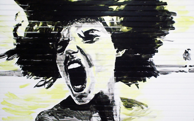 scream, silhouette, painting, fine art, modern art, contemporary
